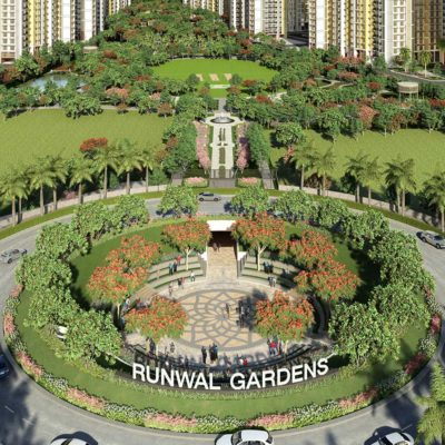 Runwal Gardens in Dombivli by top builder and developer by Runwal Group